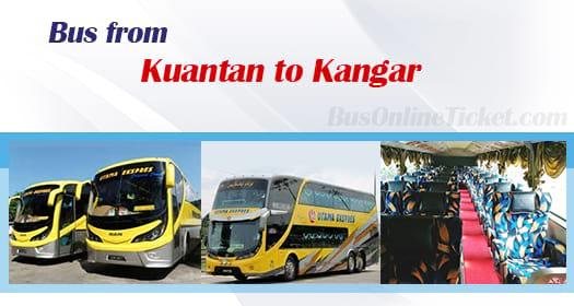Bus from Kuantan to Kangar