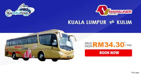 Maraliner Express - Bus Between KL and Kulim