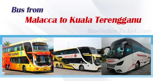 Bus from Malacca to Kuala Terengganu