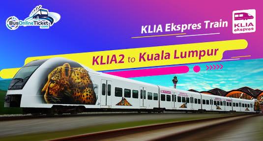 KLIA2 to Kuala Lumpur with KLIA Ekspres Train