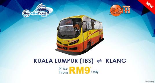 Urban Bus Offers Bus Between Kuala Lumpur and Klang