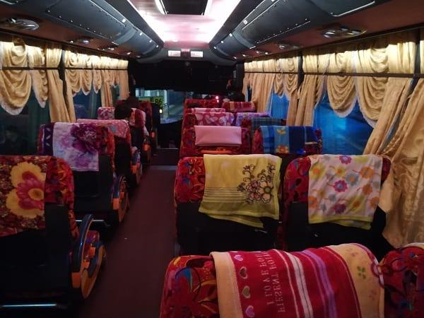 Alisan Bus Inner View