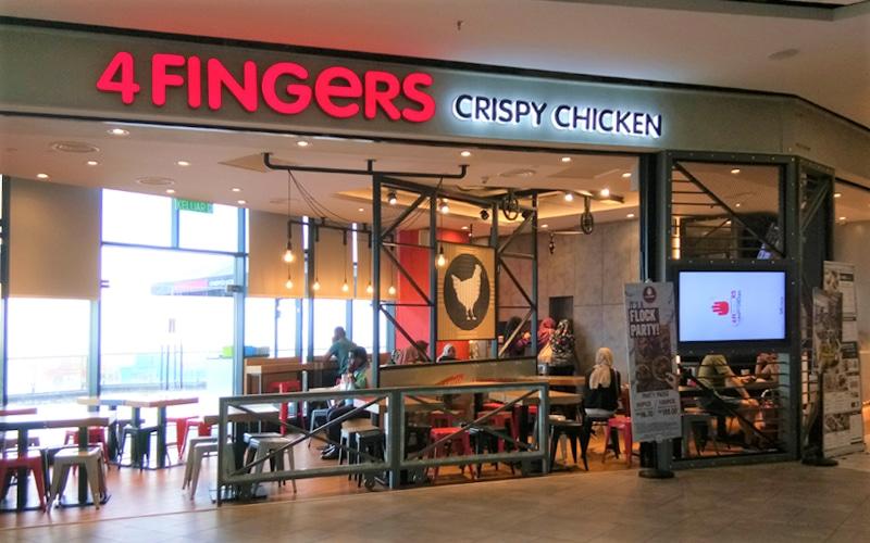 4 Fingers Front Shop