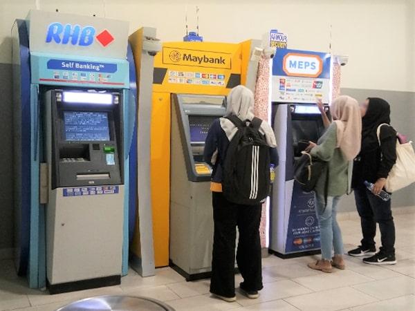 ATM Machine at Penang Sentral