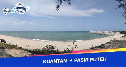 Bus from Kuantan to Pasir Puteh
