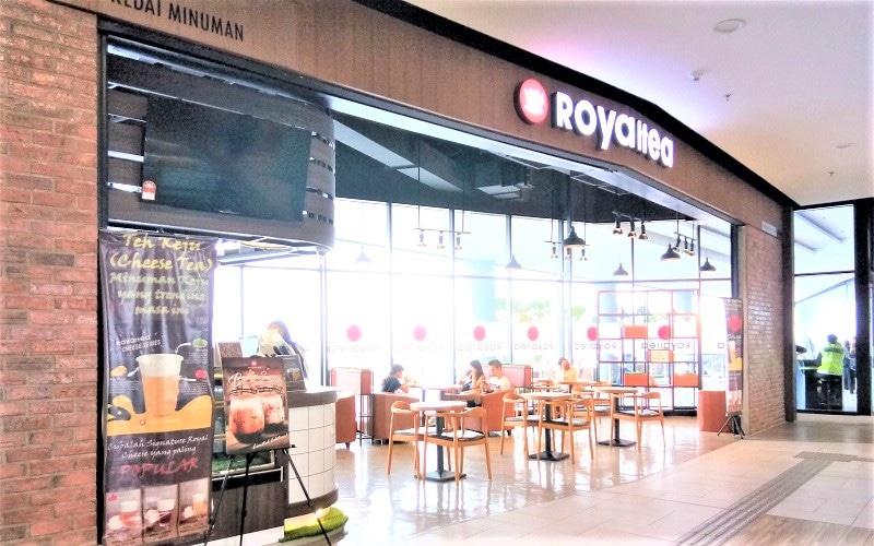 Royaltea Front Shop