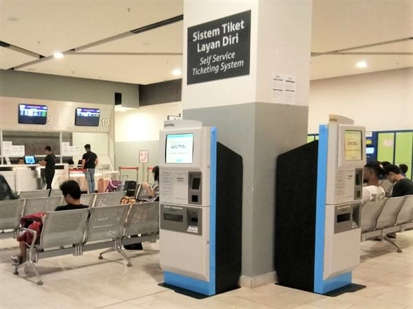 Self-Service Ticket Machine