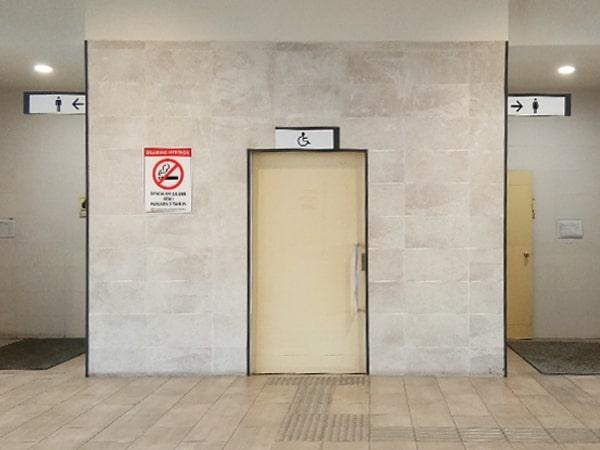Washroom in Bus Platfrom