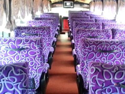Comic Express Bus Seats