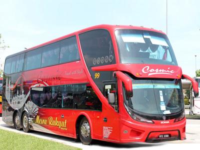 Comic Express Bus