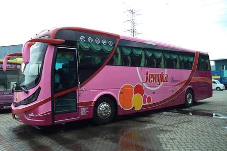 Jengka Liner Bus Exterior