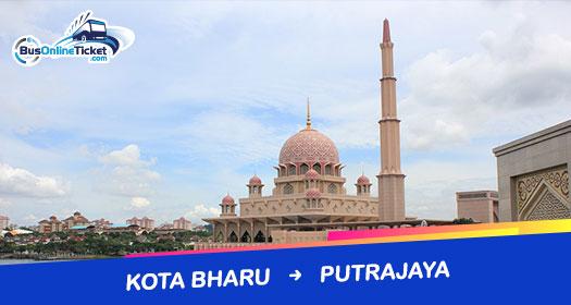 Bus from Kota Bharu to Putrajaya