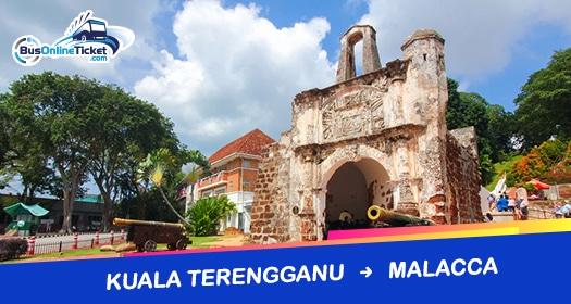 Bus from Kuala Terengganu to Melaka