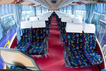 Sri Maju Express Bus Seats