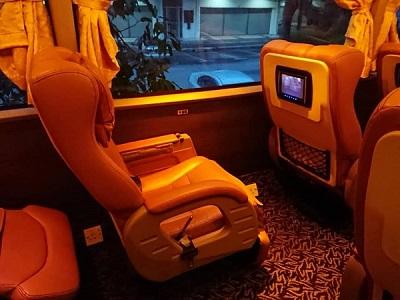 AZ Liner Bus Seats