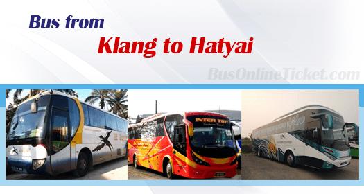Bus from Klang to Hatyai