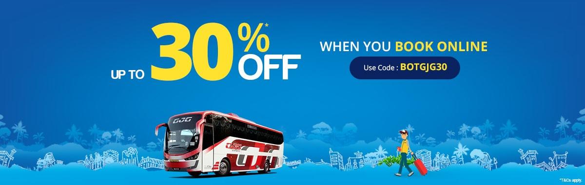 GJG Express Super Saver Up to 30% OFF
