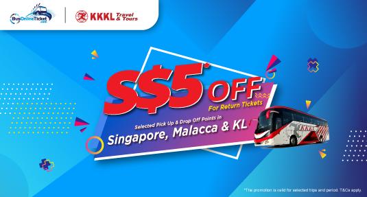 KKKL Singapore Bus Ticket Promo � Bus to Malacca & KL